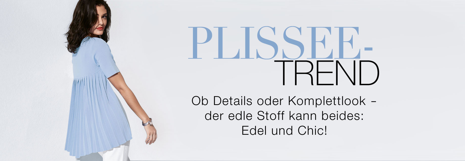 Plissee Trends
